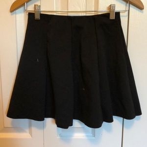 Black Brandy Melville Skater Skirt